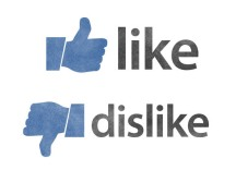 Like and Dislike icons