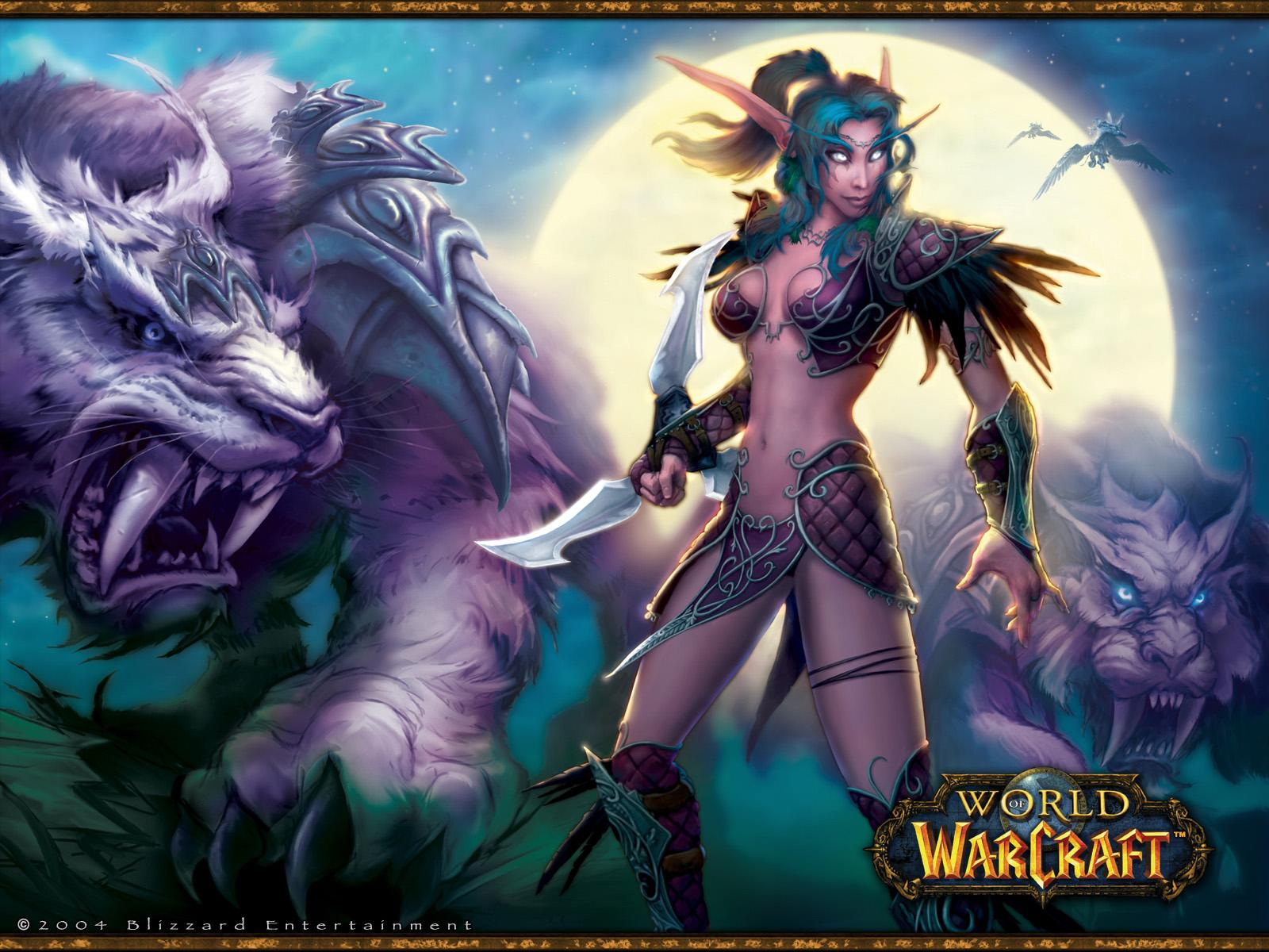 night elf female nude